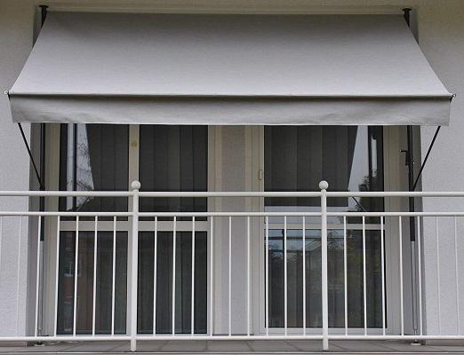 Angerer Klemmmarkise grau 150 x 300 x 225 cm